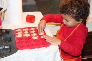 Young baker