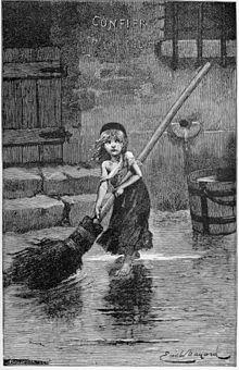 Cosette - illustration from original work (http://en.wikipedia.org/wiki/Les_miz)
