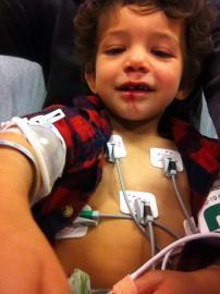 Sam at ER